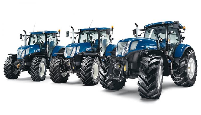 New Holland T7 BluePower